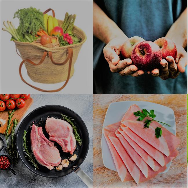 marché de denrées alimentaires